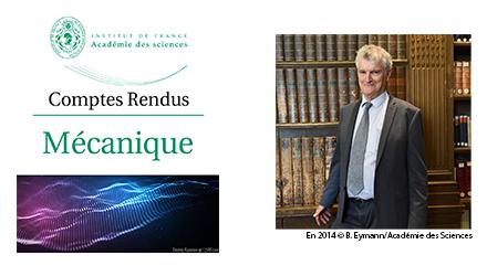 Comptes-Rendus de l'Académie des Sciences : Numéro spécial dédié à Yves Couder