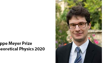 Prix Philippe Meyer de Physique Théorique 2020 décerné à Adam Nahum